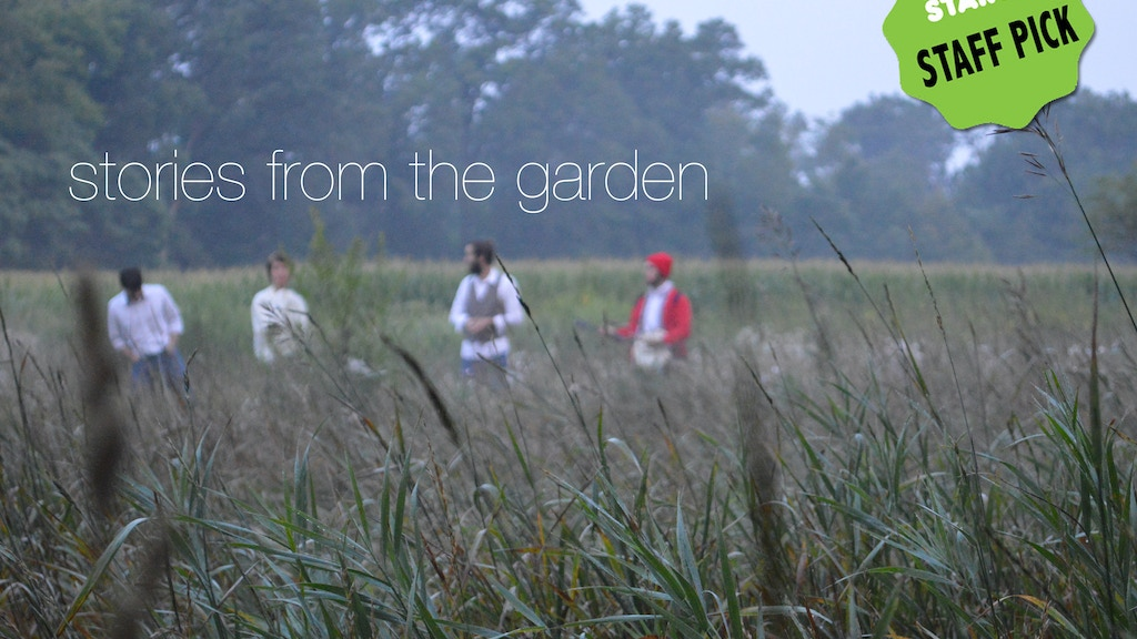 Stories from the Garden project video thumbnail