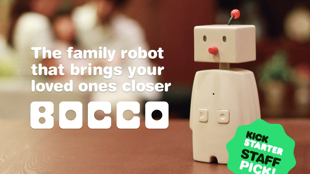 BOCCO: The family robot that brings your loved ones closer project video thumbnail