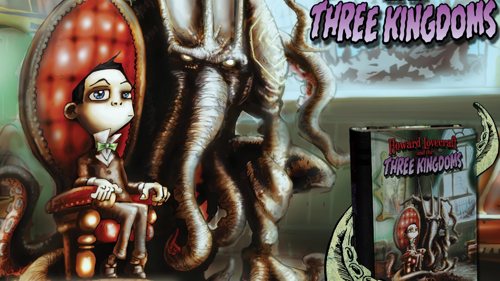 Howard Lovecraft & the Three Kingdoms Hardback Graphic Novel project video thumbnail