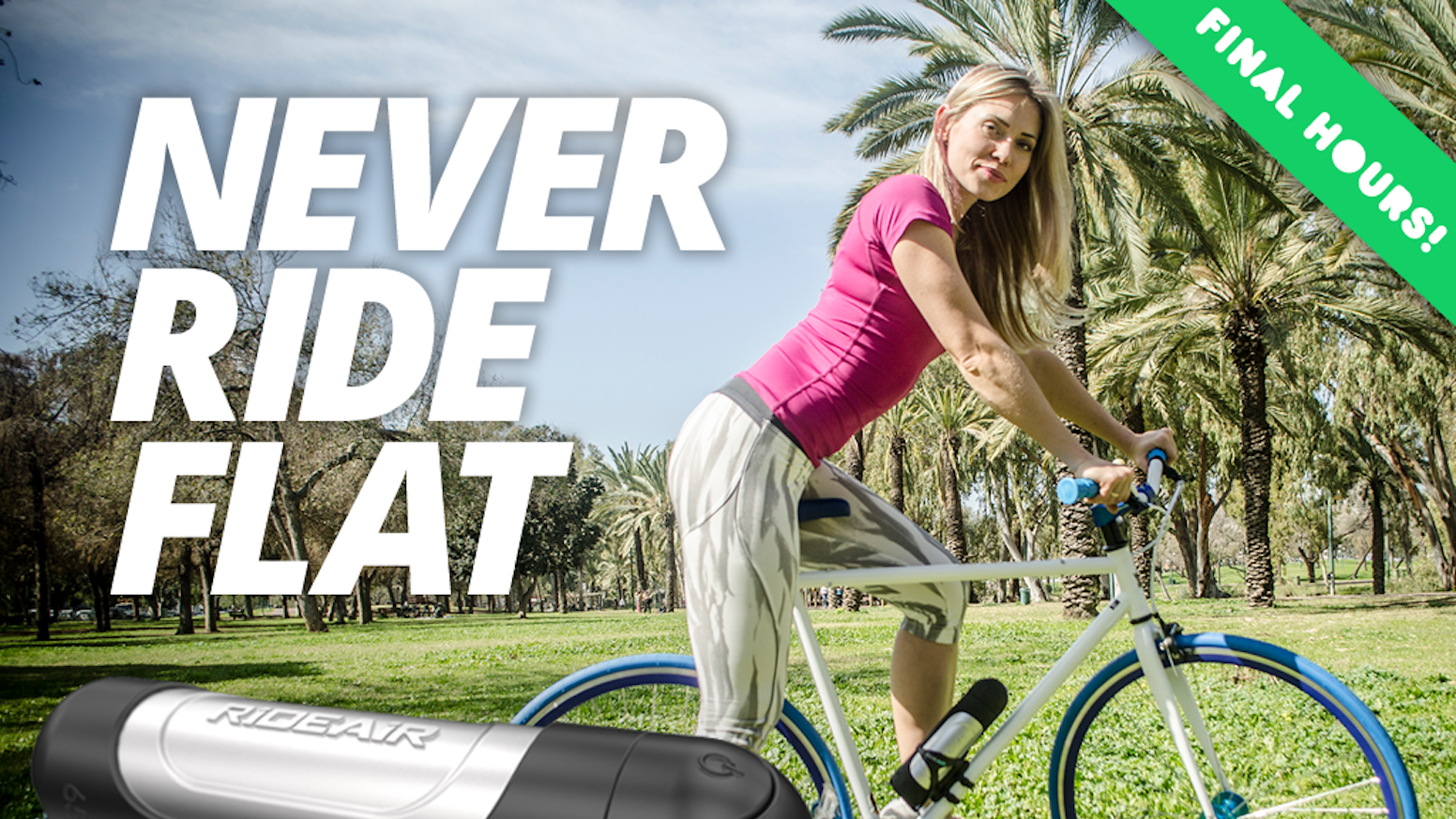 Rideair The Next Generation Of Effortless Air Pumps By