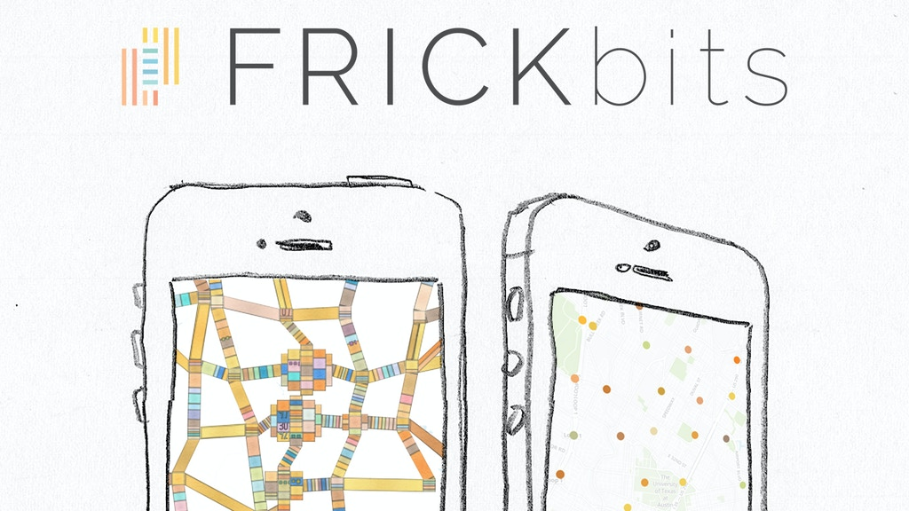FRICKbits: your data is now art on your iphone project video thumbnail