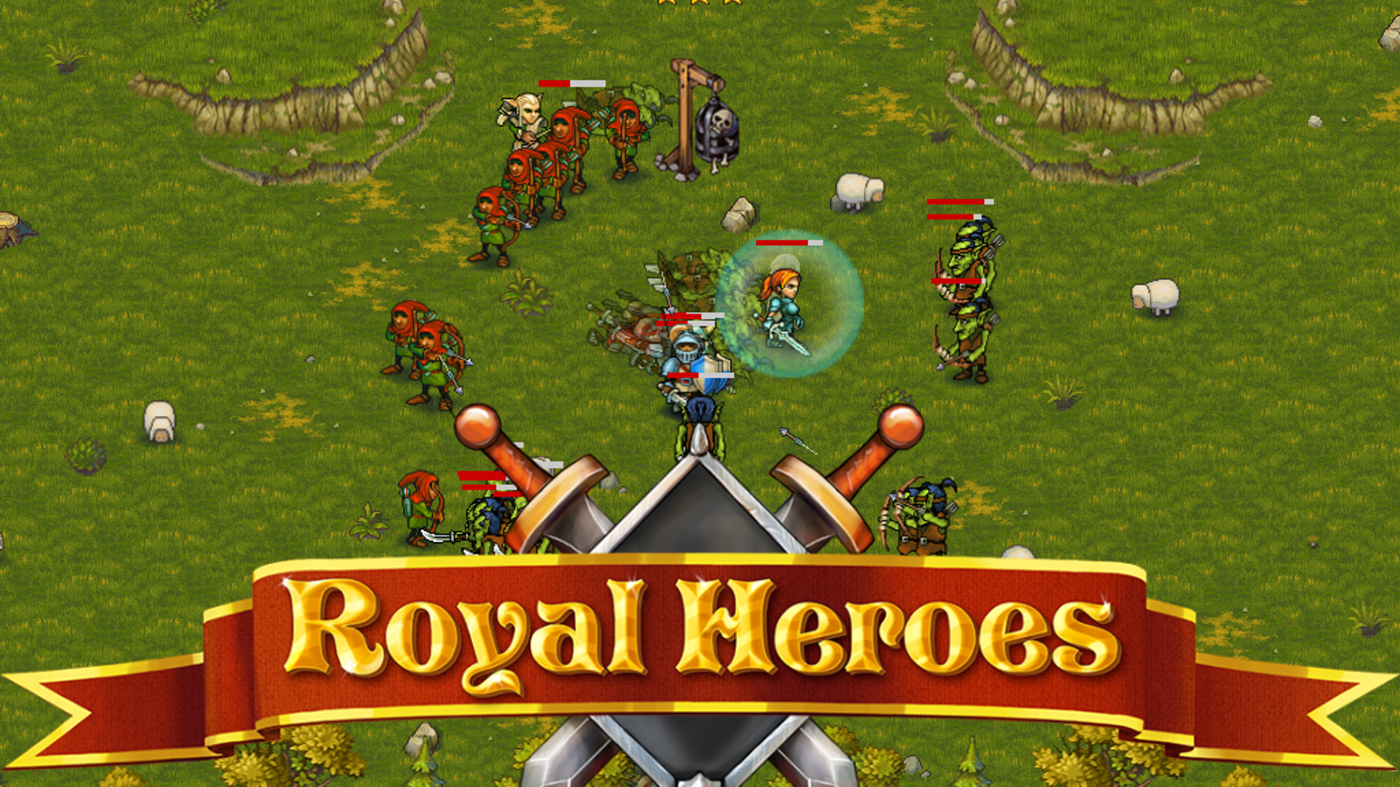 Royal Heroes for Ouya/Mac/PC/Mobile and more! by FGL Indie Showcase