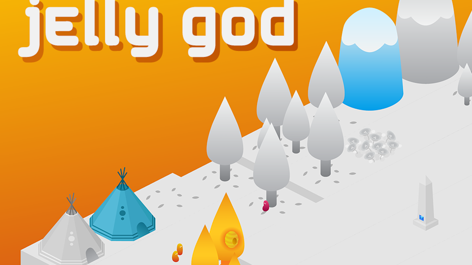 Be a god and save a world. Bring colour to a grey and lifeless land by growing and nurturing a jelly village. PC (Windows/Mac) & iOS.