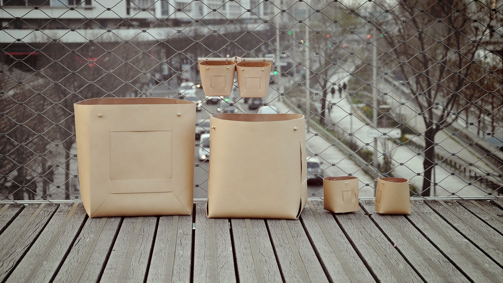 Quinoa Paris SUSTAINABLE CUSTOMIZABLE leather bag and basket project video thumbnail