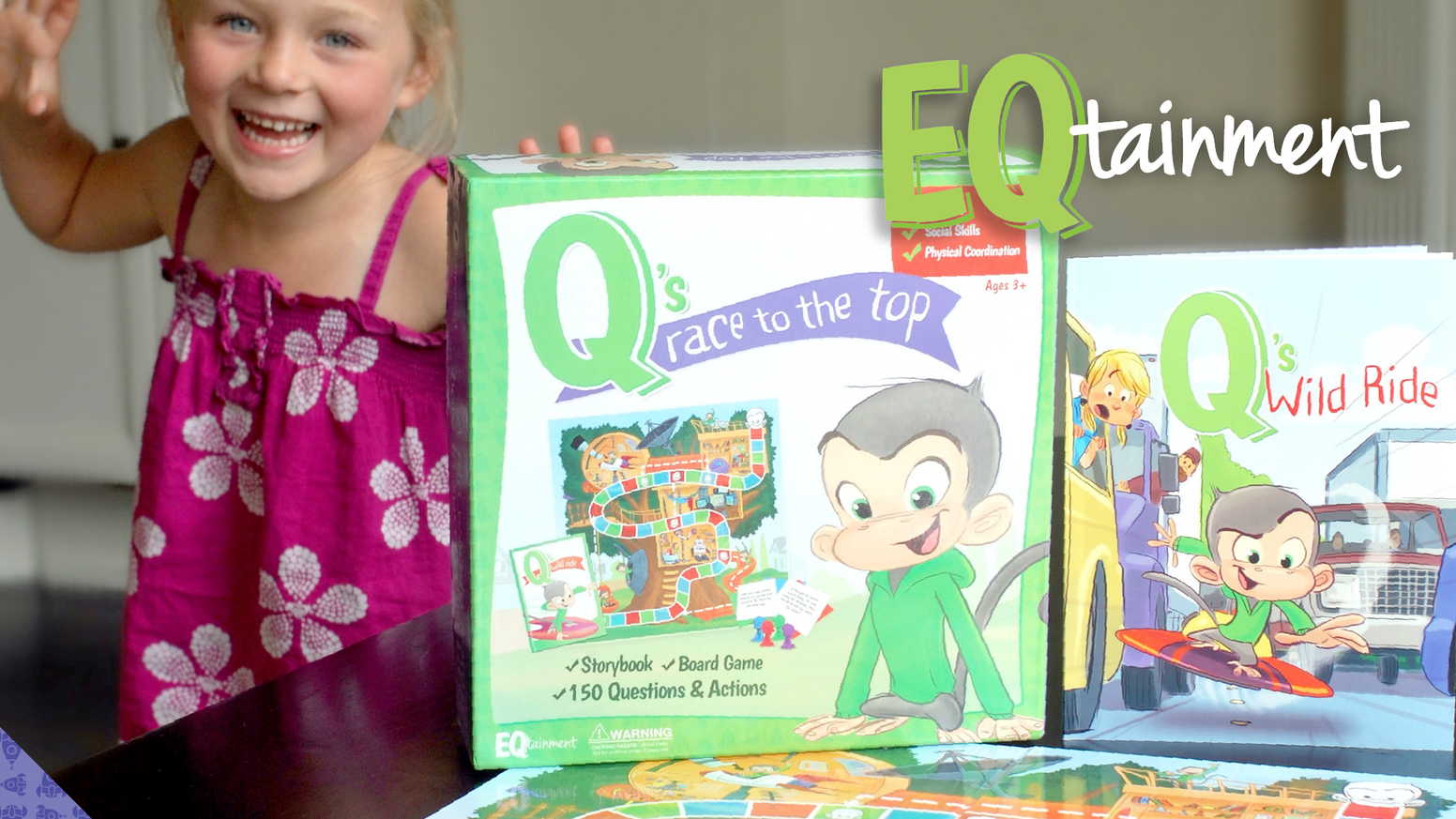 qs race to the top the eqtainment game storybook