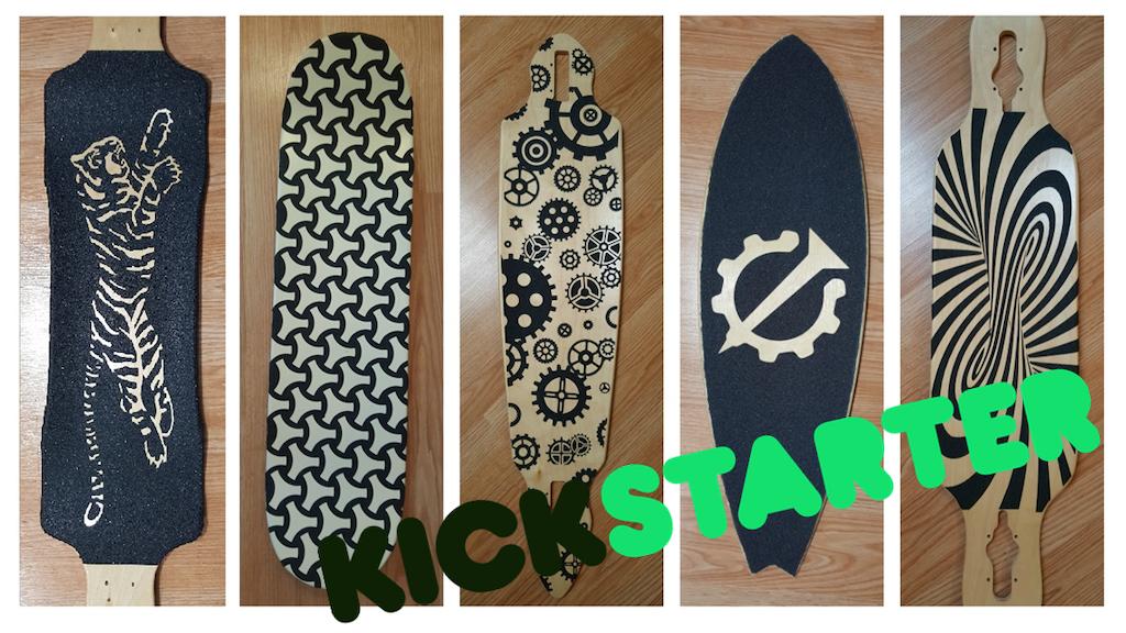 Grip Graphique: Custom Cut Griptape for Your Favorite Boards project video thumbnail