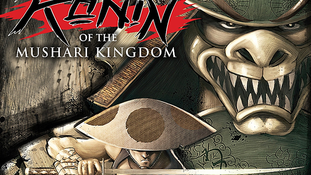 Ronin of the Mushari Kingdom - Issue #1 project video thumbnail