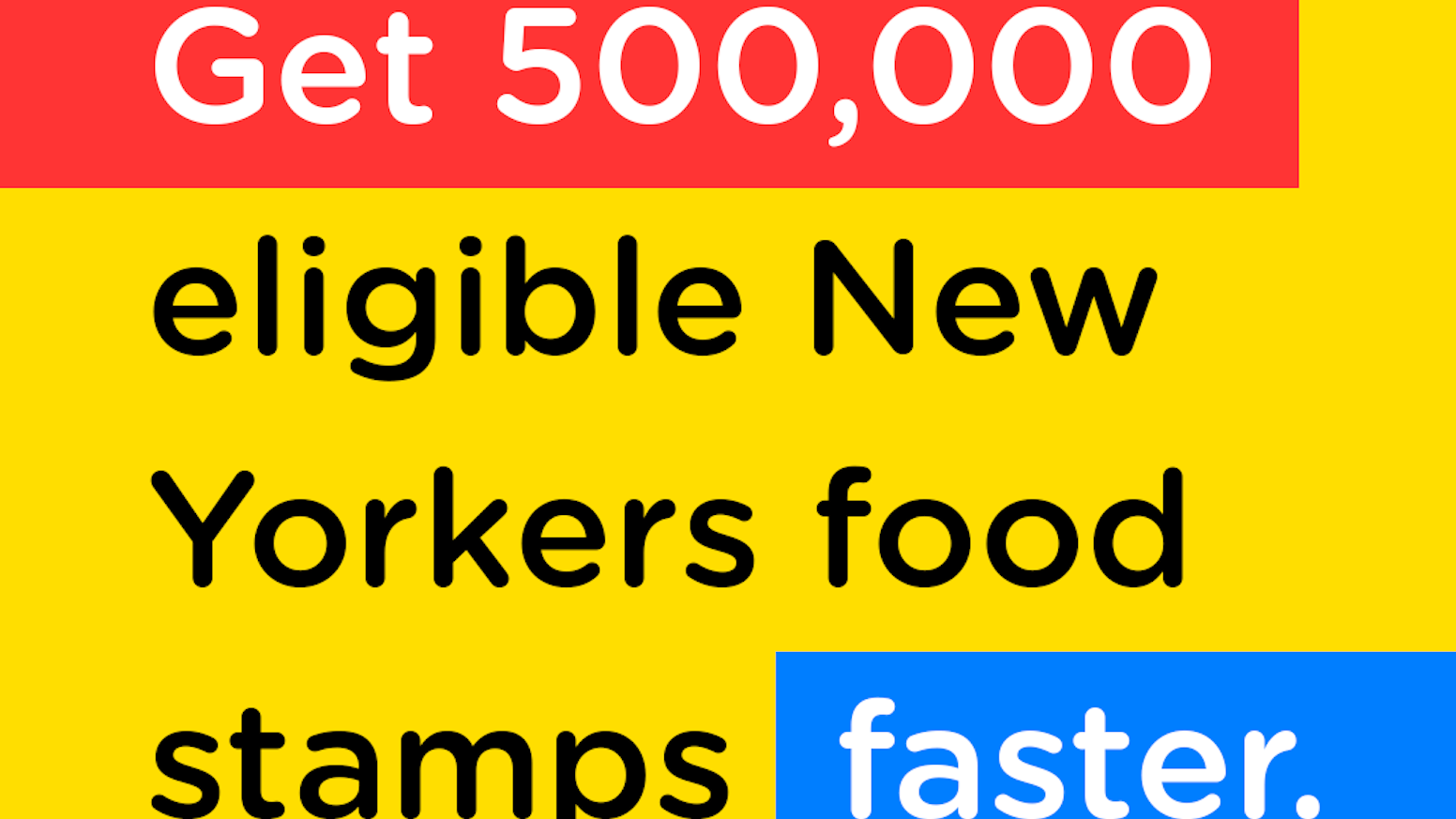 Is Ny Food Stamps Down Right Now