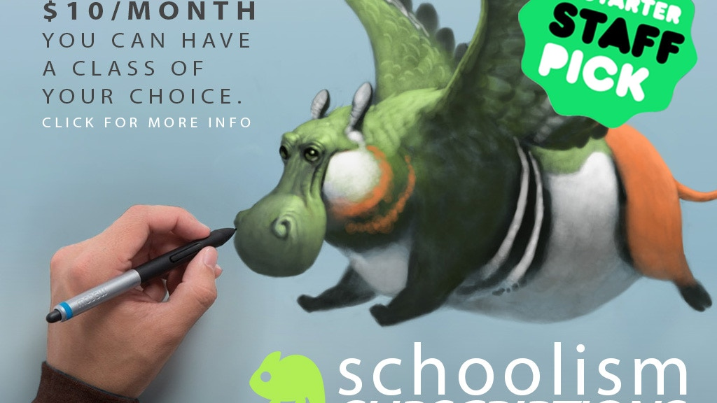 SCHOOLISM SUBSCRIPTIONS: ART EDUCATION MADE AFFORDABLE project video thumbnail