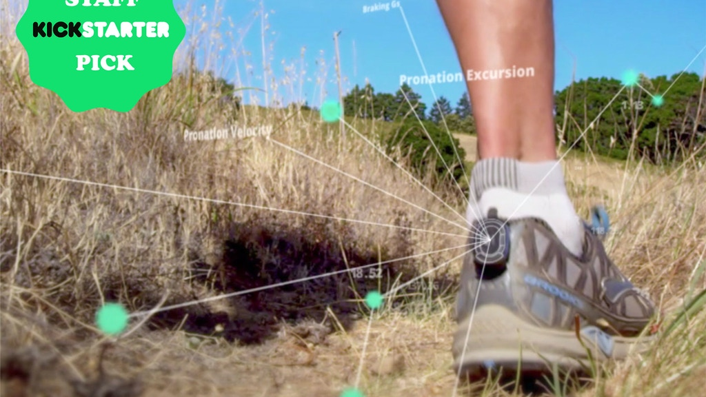 runScribe: Wearable for the Data-Driven Athlete project video thumbnail