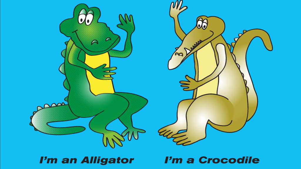I'm an Alligator. I'm a Crocodile. project video thumbnail