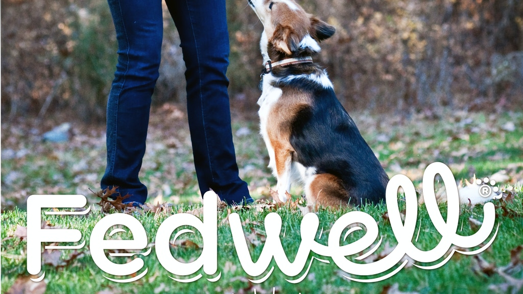 Fedwell Pet Foods: Convenient, Healthy & Totally Grain Free project video thumbnail