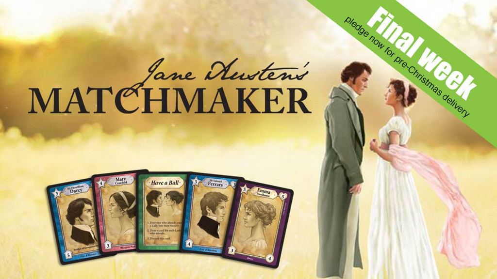 Jane Austen's Matchmaker - a card game project video thumbnail