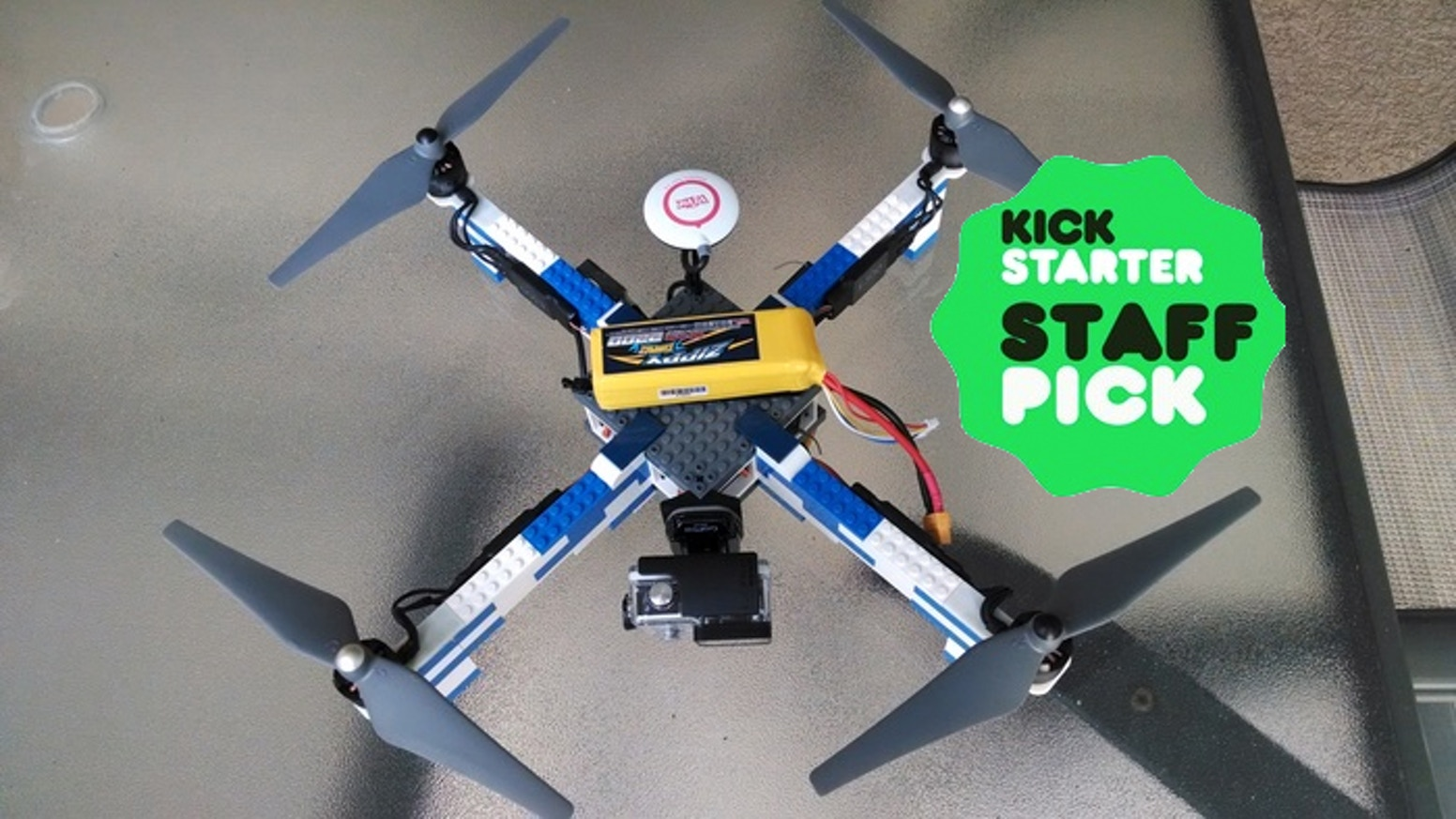 Lego Brick Drone Frame By Gencode Systems Inc Nick Has Improved