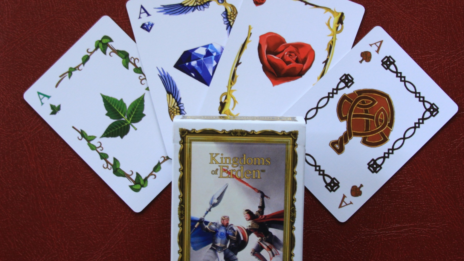 Kingdoms Of Erden Collectable Fantasy Playing Cards And Art