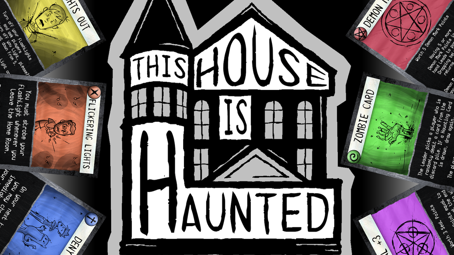 This House Is Haunted By Brain Punch Games Kickstarter