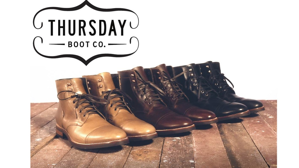 Thursday Boot Co. - THURSDAY | EVERYDAY project video thumbnail