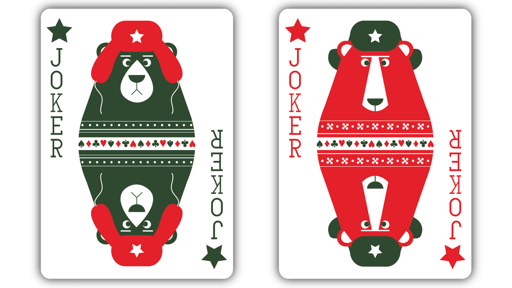 Russian Folk Art Playing Cards - Printed by USPCC project video thumbnail