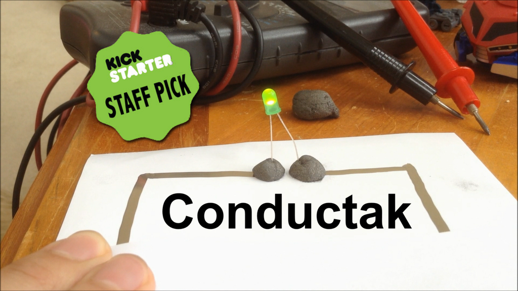 Conductak: Stick Circuits Anywhere project video thumbnail