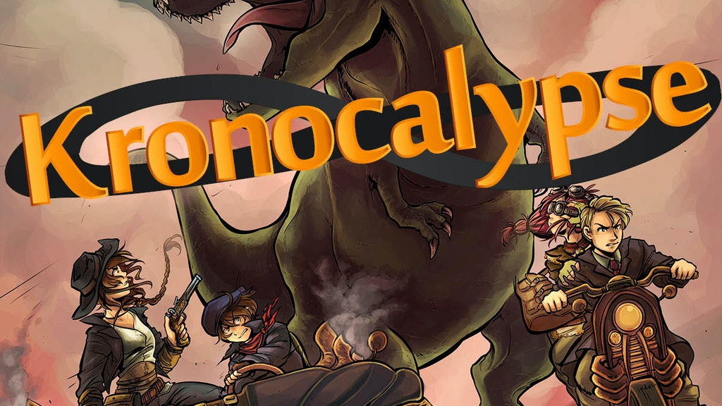 Kronocalypse - Savage Worlds Time Travel project video thumbnail