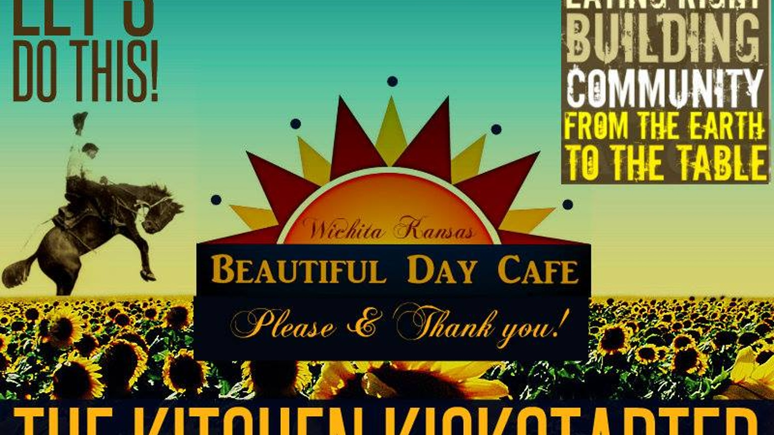 Beautiful Day Cafe will feature fresh locally sourced foods that are full of flavor and feed your soul as well as your body.