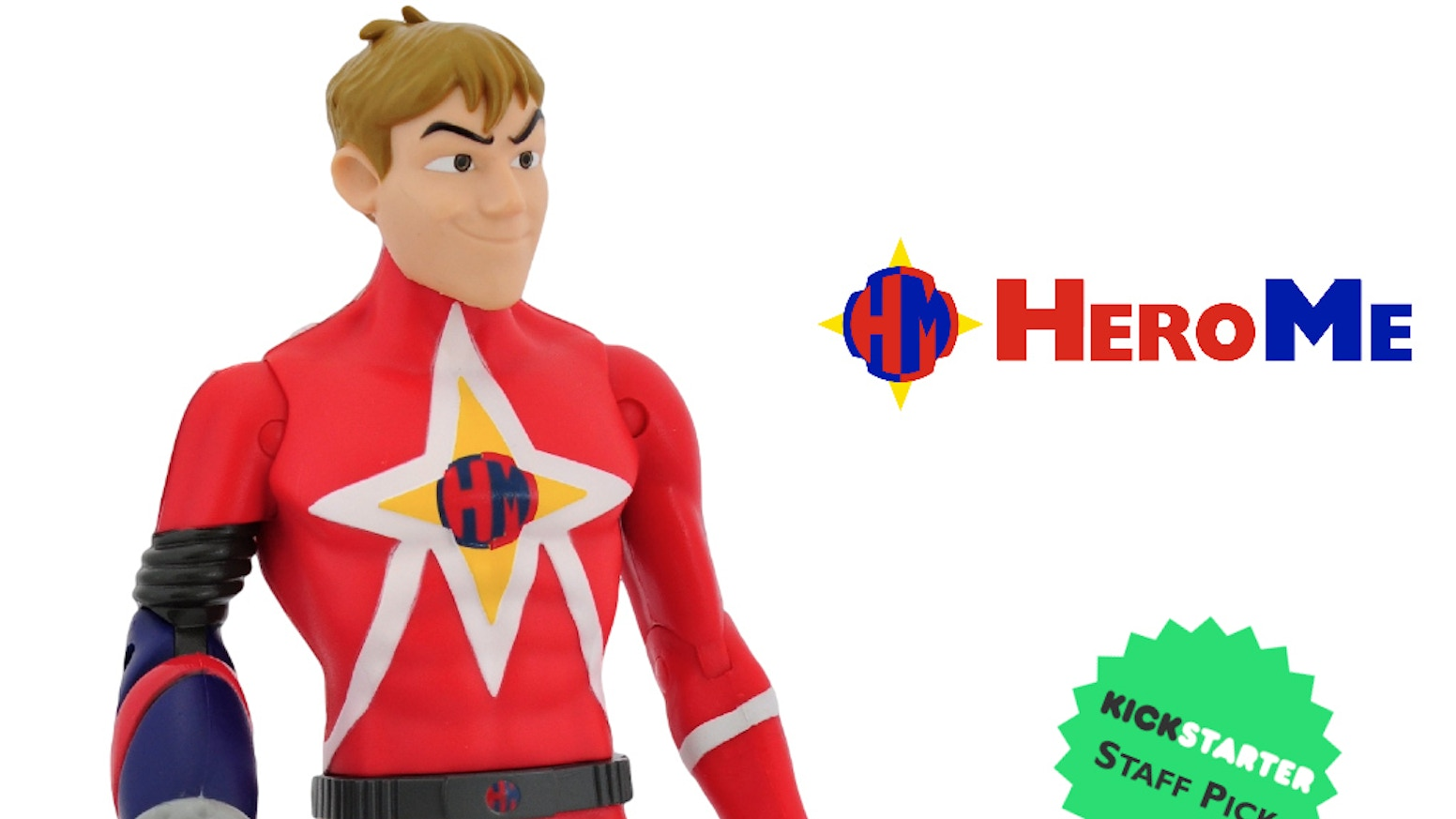 HeroMe inspires kids' creativity by allowing them to create their own superhero action figures.