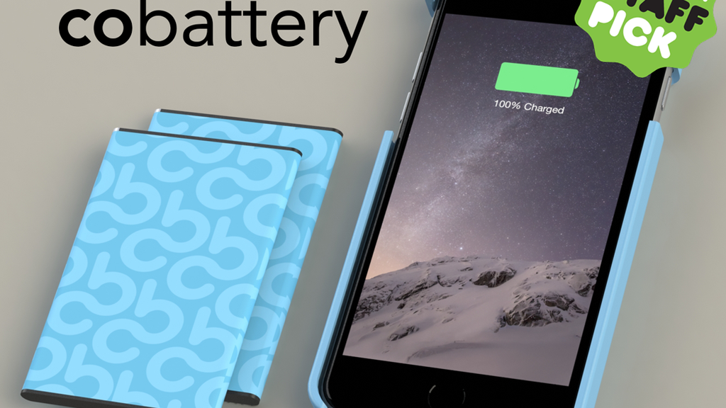 CoBattery: Never plug in your iPhone again. project video thumbnail