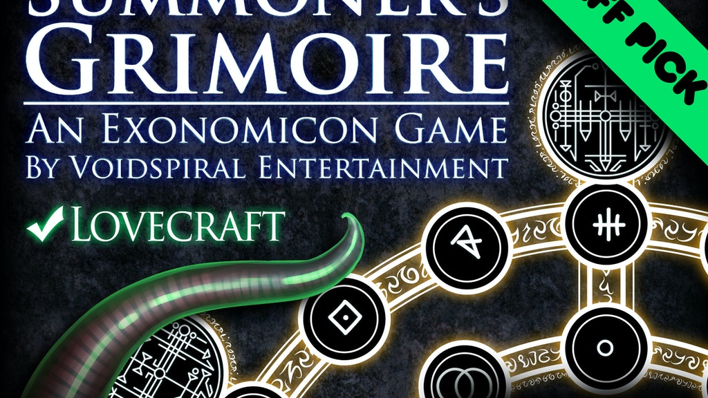 Summoner's Grimoire - An Esoteric and Occult Boardgame project video thumbnail