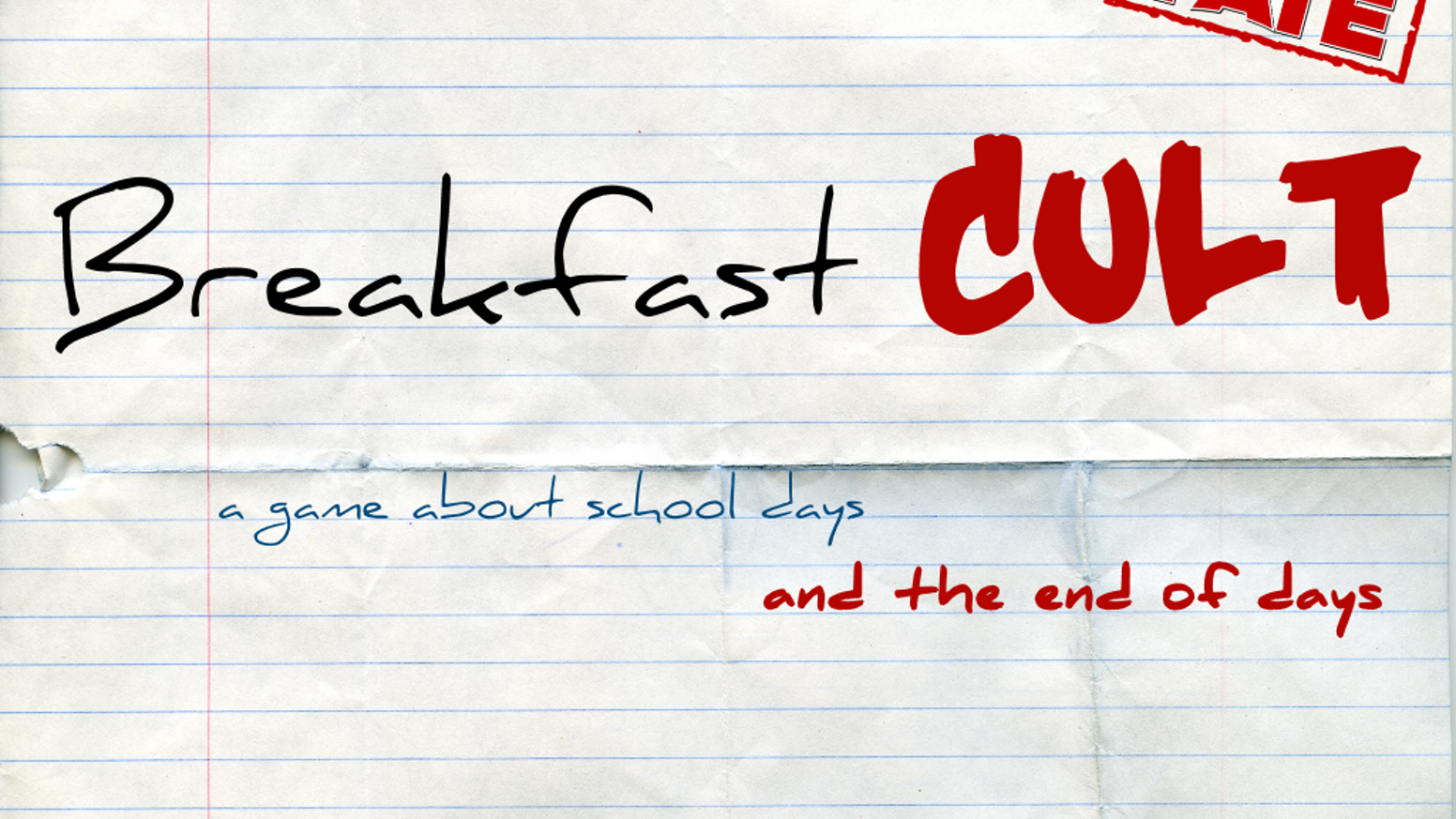 Breakfast Cult: A Cosmic Horror Anime RPG by Liberi Gothica Games ...
