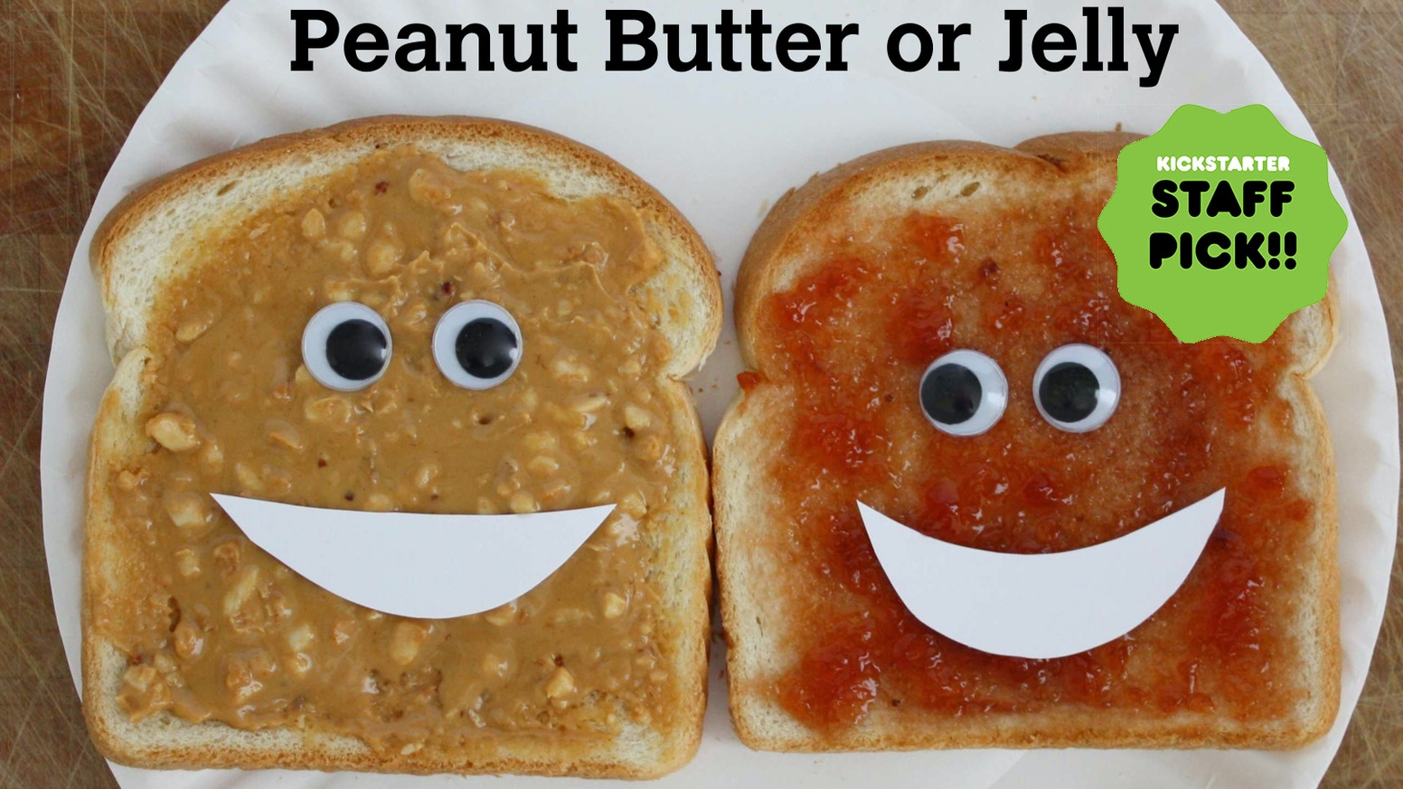 A scrumptious children's book about Peanut Butter and Jelly's sticky negotiation for top billing in the name of their sandwich.