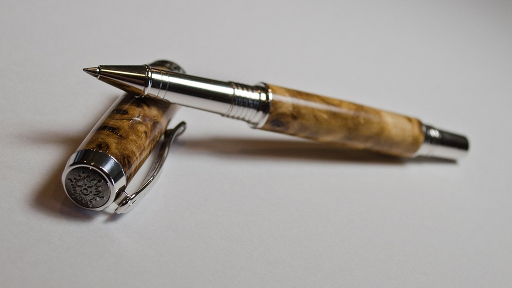Custom hand-made pens project video thumbnail