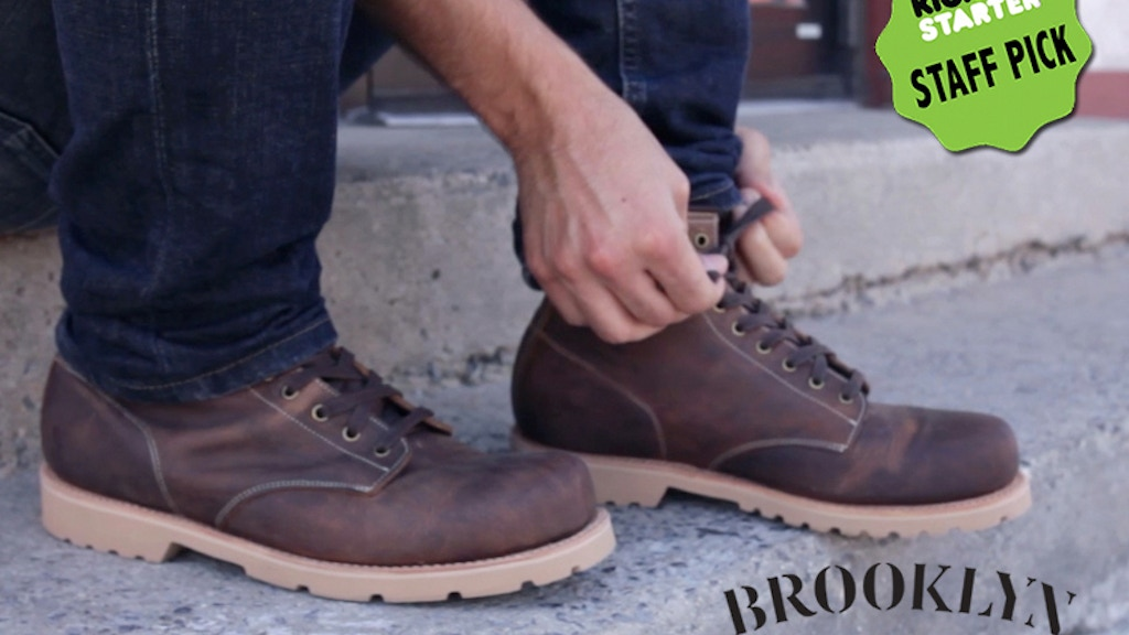 Brooklyn Boot Company project video thumbnail