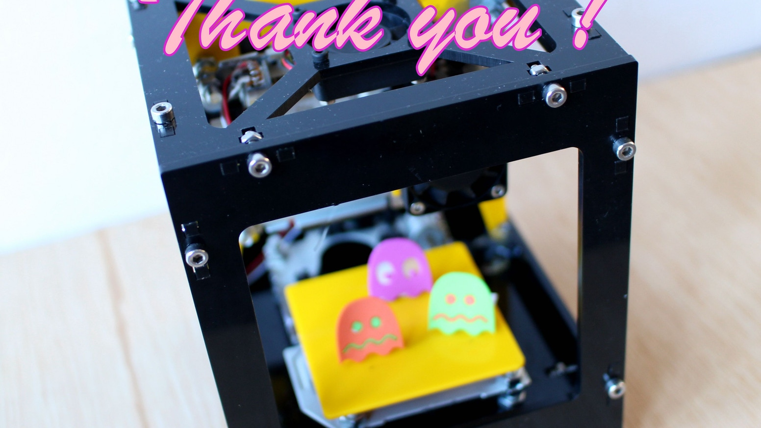 An Enjoyable Laser Engraver and Cutter