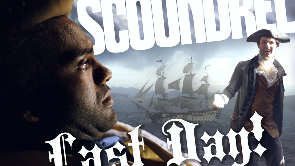 [LAST DAY!] Historical comedy SCOUNDREL project video thumbnail