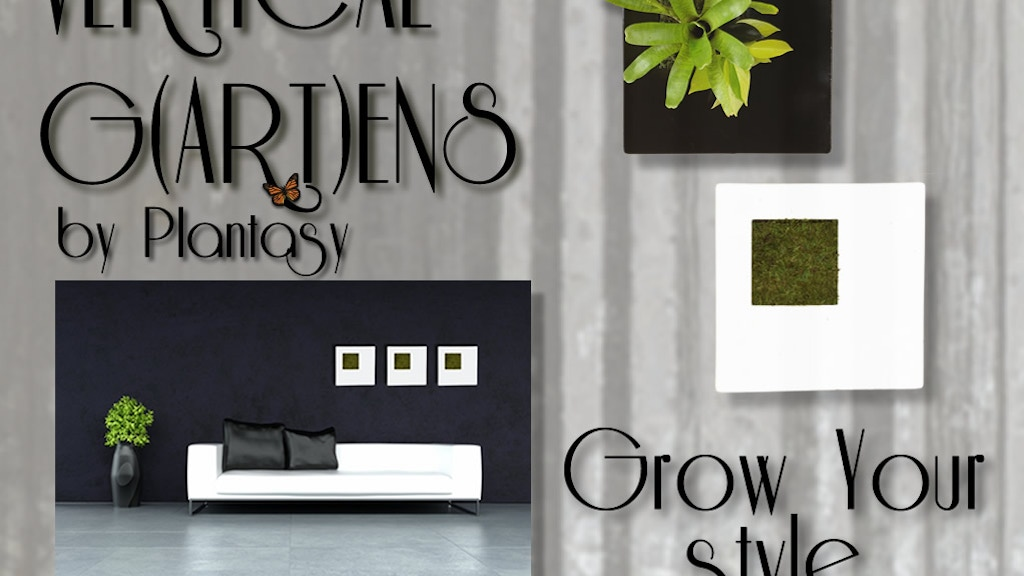 Plantasy Vertical Gardens project video thumbnail