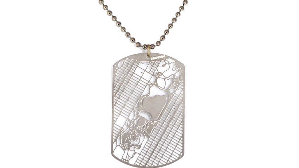Urban Gridded Dogtag Jewelry Collection project video thumbnail