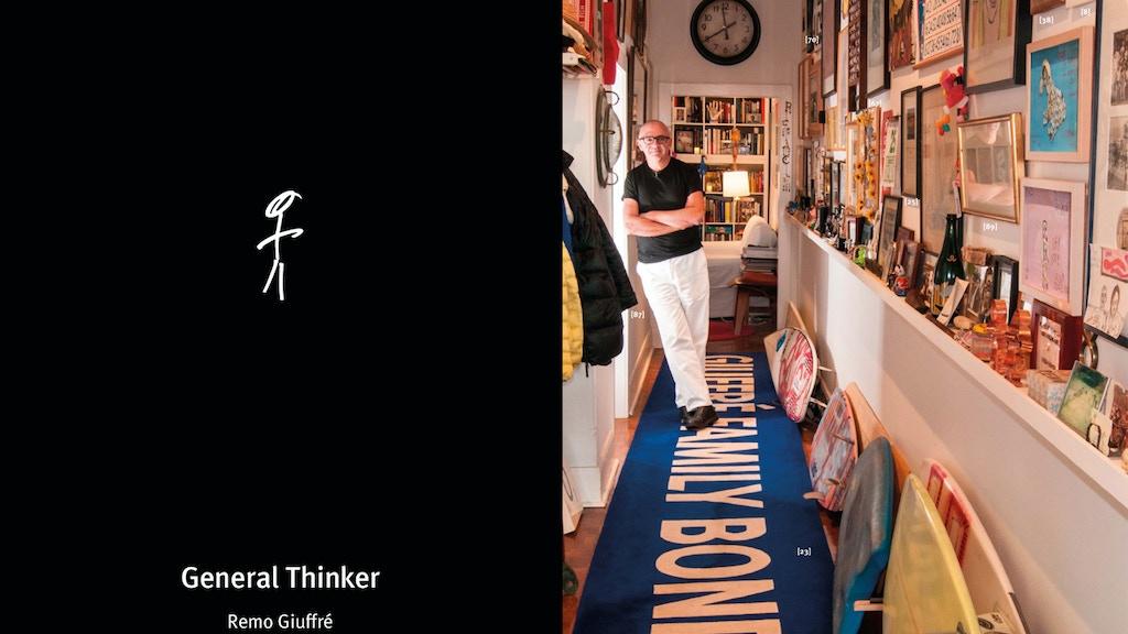General Thinker | Unique Visual Memoir | Printed, iPad & PDF project video thumbnail