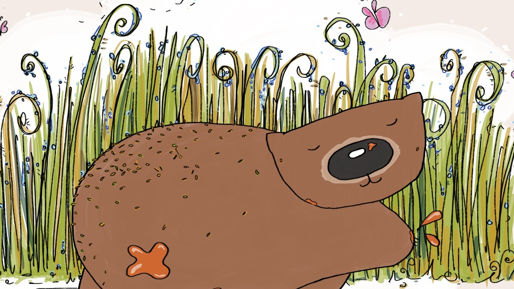 Once a Wommie Wombat children's picture book project video thumbnail