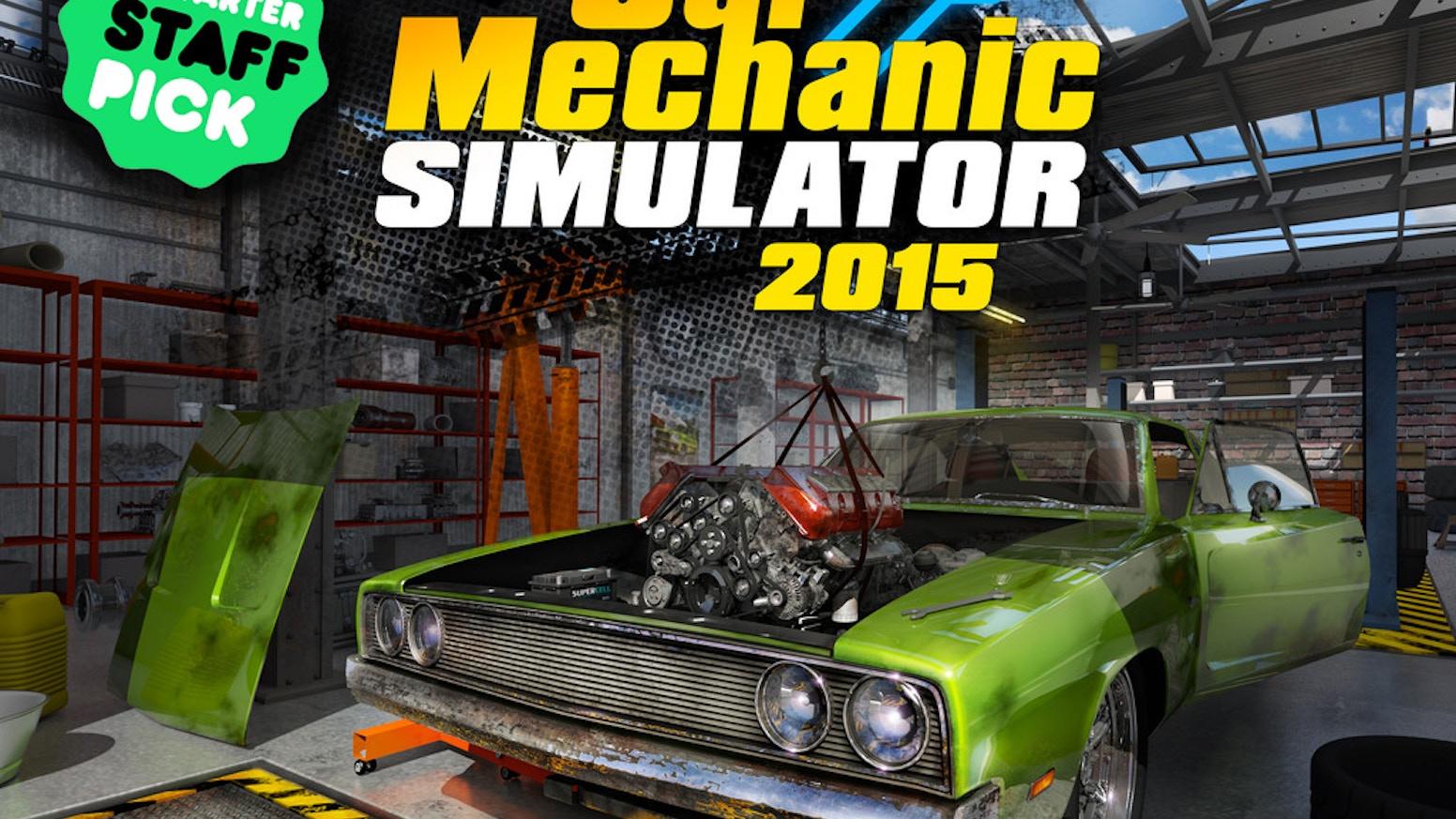 Car Mechanic Simulator 2015 By Playway Car Mechanic Simulator 2018