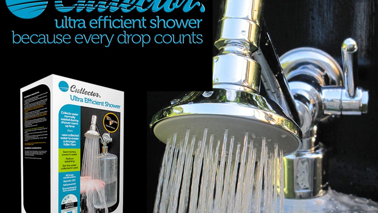 Cullector™ Ultra Efficient Shower by Peter Cullin — Kickstarter