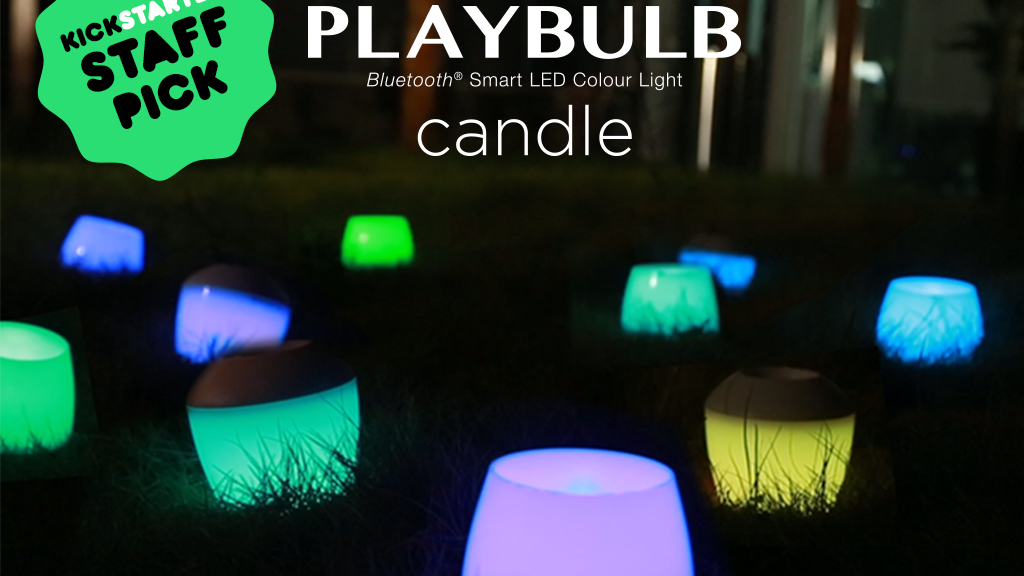PLAYBULB candle - Color LED Flameless Candle with Mobile App project video thumbnail