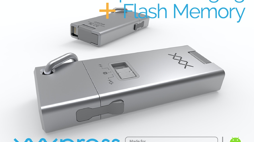 First Ever Express Charging Flash Drive