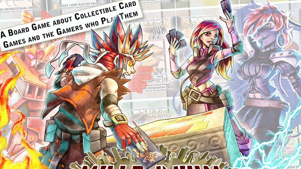 Millennium Blades -- The CCG-Simulator Board Game project video thumbnail