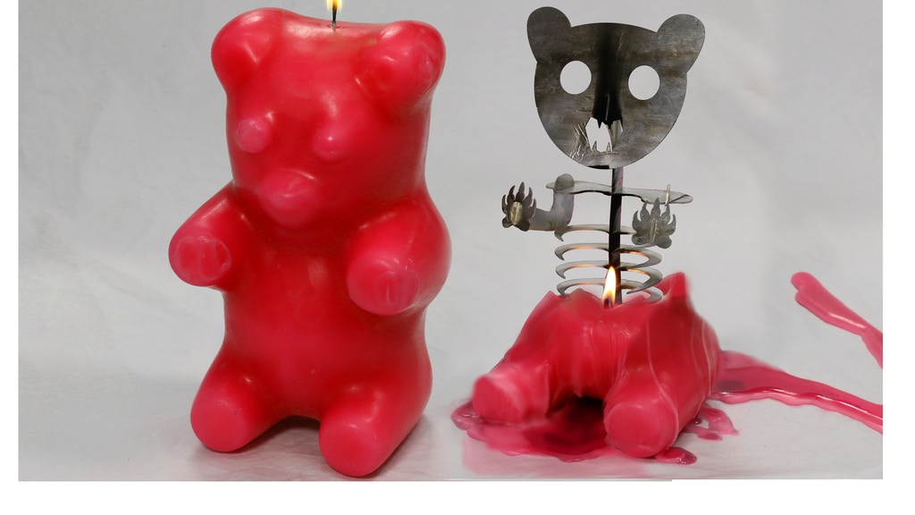 Gummi Bear Skeleton Candle project video thumbnail