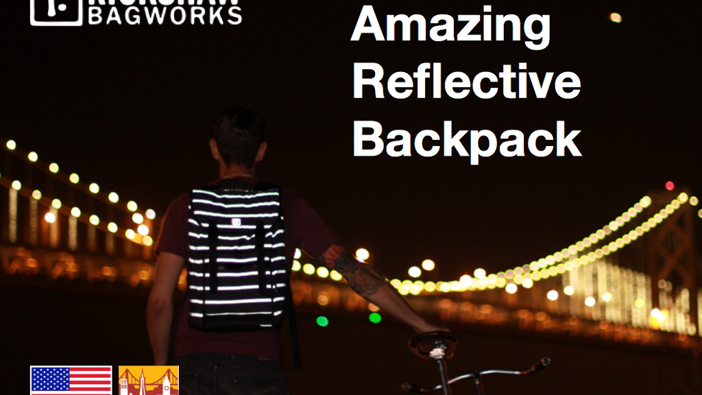 AMAZING REFLECTIVE BACKPACK by Rickshaw Bagworks project video thumbnail