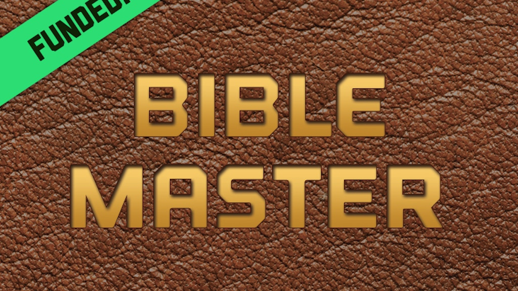 Bible Master   The Card Game project video thumbnail