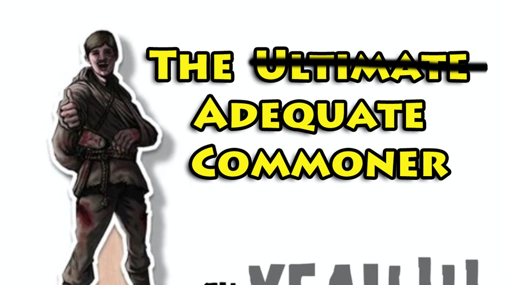 The Adequate Commoner project video thumbnail