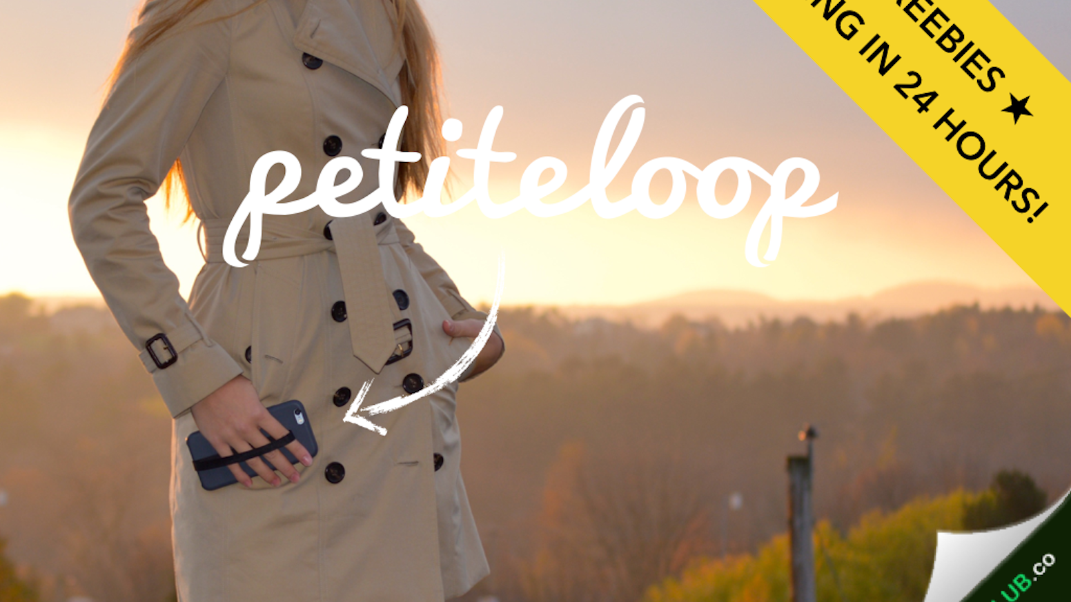 Petite loop is a must-have accessory compatible with any smart phone case - finally, a phone leash that fits your lifestyle!