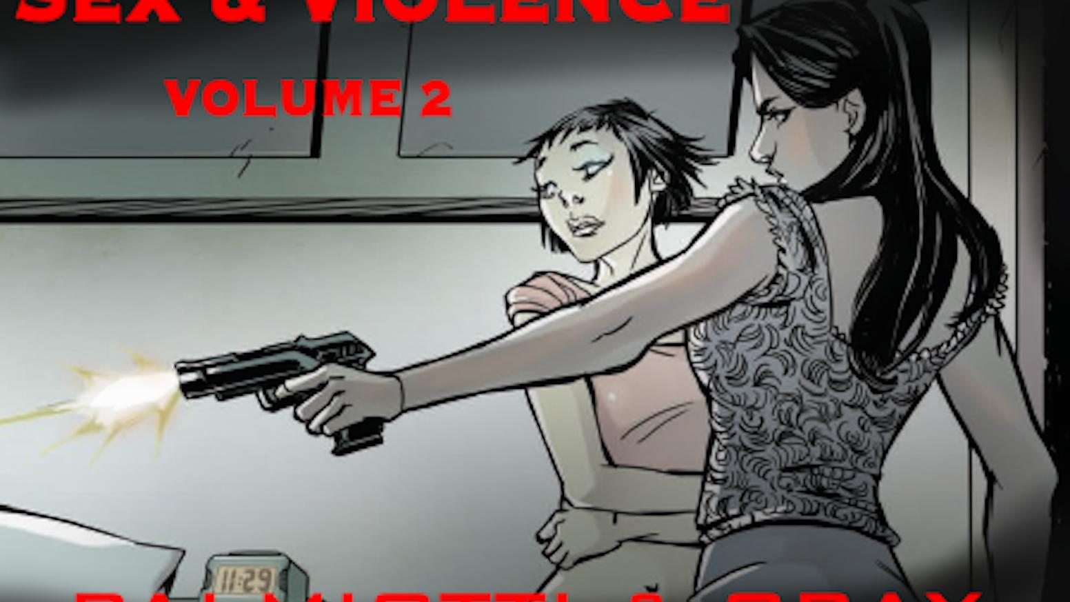 Amanda Page Sexy Movie sex and violence vol. 2jimmy palmiotti — kickstarter