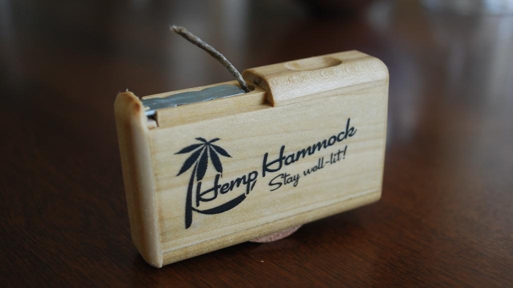 The Hemp Hammock - Hemp wick dispenser project video thumbnail